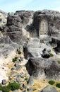 Religious sculpture in Portuguese rocks