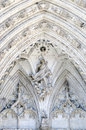 Religious stonework cathedral of toledo Royalty Free Stock Photo