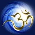 Religious symbol - om Stock Photo