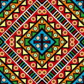 Religious texture with ethnic motifs colored Royalty Free Stock Image