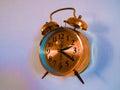 Reloj viejo en la pared Foto de archivo