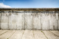 Remaining elements of the berlin wall remains preserved along bernauer strasse Stock Photos