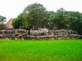 A remaining mayan ruin at San Gervasio Royalty Free Stock Photo