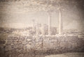Remains of ancient greek city Chersonese. Sevastopol. Crimea. Ukraine. Royalty Free Stock Photo