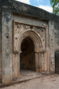 Remains of gede in kenya africa near the town malindi Stock Images