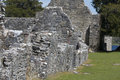 Remains of 7th century Innisfallen Abbey on Innisfallen Island Royalty Free Stock Photo