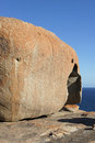 Remarkable rocks australia flinders chase national park kangaroo island south Royalty Free Stock Image