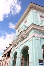 Remedios cuba in typical old town colonial architecture Royalty Free Stock Photo