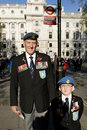 Remembrance Day Parade, 2012 Royalty Free Stock Photos