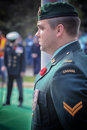 Remembrance Day PPCLI Corporal Stock Images