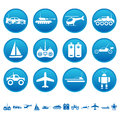 Remote control toys icons set of Stock Images