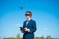 Remote controlled helicopter Royalty Free Stock Photo