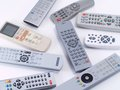 Remote controls. Stock Images