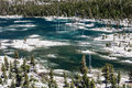 Remote lake in desolation wilderness of california aloha is a glacial basin found the high the sierra nevada mountains eastern Stock Image