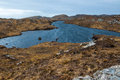 Remote loch in the scottish highlands assynt sutherland scotland uk Stock Photos
