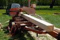Removable sawmill Royalty Free Stock Photos