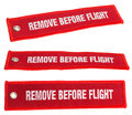 Remove before flight Stock Photo
