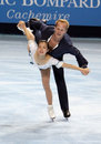 Rena INOUE / John BALDWIN (USA) free skating Stock Photo