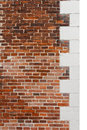 Renaissance brick wall Royalty Free Stock Photography