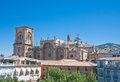 Renaissance cathedral granada andalucia spain view of Stock Photo