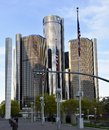 The Renaissance Center Royalty Free Stock Photo