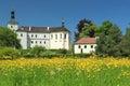 Renaissance chateau Breznice Royalty Free Stock Photo