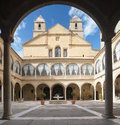 Renaissance Courtyard of Santiago Hospital