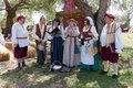 Renaissance Faire singers Royalty Free Stock Photo