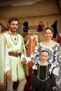 Renaissance Family Royalty Free Stock Photo