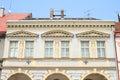 Renaissance house in jicin town czech republic Royalty Free Stock Photography
