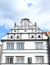 Renaissance house in Pisek Royalty Free Stock Photo