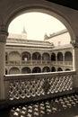 Renaissance Patio of Museum of Santa Cruz in Toledo, Spain Royalty Free Stock Photo