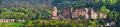 Renaissance style Heidelberg Castle in Germany Royalty Free Stock Photo