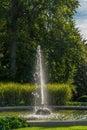 Renaissance summer folly of the queen Anna in Royal Gardens Royalty Free Stock Photo