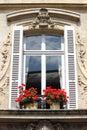 Renaissance window Royalty Free Stock Photo