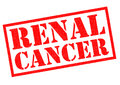 RENAL CANCER Rubber Stamp