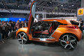 Renault captur concept at moscow motor show the international Stock Photo