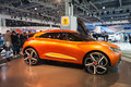Renault captur concept at moscow motor show the international Royalty Free Stock Image
