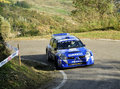 Renault Clio S1600 Rally Stock Photo