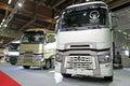 Renault Range T Trucks with High Sleeper Cab Royalty Free Stock Photo