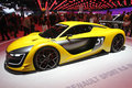 Renault sport at paris motor show oct the opening of the on the th of october Stock Image