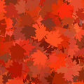 Rendered fall leaves Stock Photos