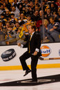 Rene Rancourt TD Garden Legend Stock Photography