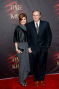 Renee grisham john grisham new york oct author r and wife attend the broadway opening night of a time to kill at the golden Royalty Free Stock Photo