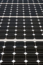 Renewable energy: solar panels Stock Image
