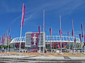 Renewed Olympic Sport Stadium in Kiev, Ukraine, Stock Photos