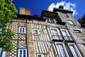 Rennes, historic buildings Royalty Free Stock Photo