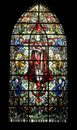 Rennes, stained glass Royalty Free Stock Photo