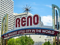 Reno Arch Royalty Free Stock Photo
