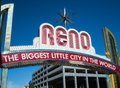The Reno Arch Royalty Free Stock Photo